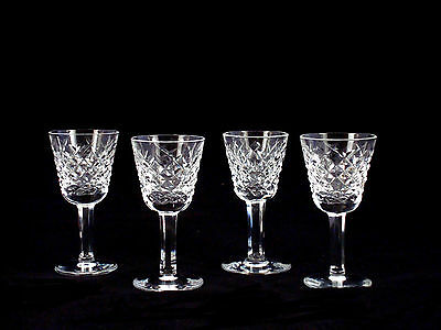 Waterford Crystal Alana Cordial Liqueur Glasses