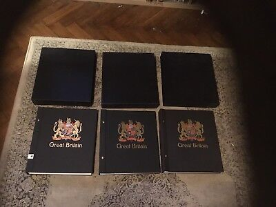 Davo Albums X3 Plus Mint Stamps Huge Collection