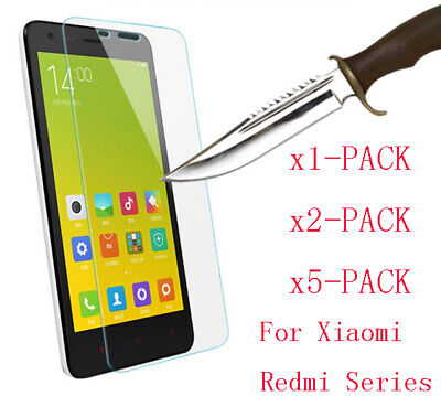 Lot For Xiaomi Redmi Note 4 X 5A 9H Premium Tempered Glass Screen Protector Film