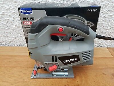Boxed Wickes Jigsaw with Laser Guide.  Not makita
