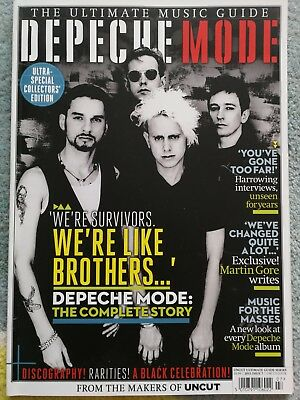 Depeche Mode Story English Uncut Music Mag Special Edition Dave Gahan Gore 2013