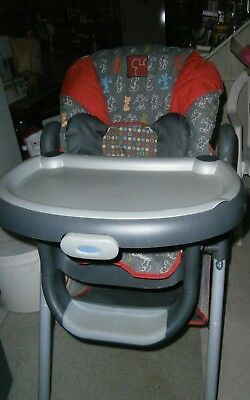 Mint condition Graco High Chair Mickey Mouse design PICK UP ONLY!