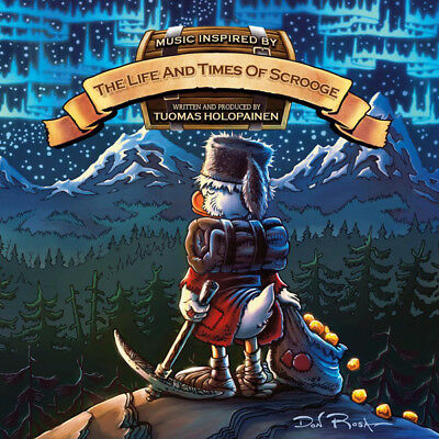 TUOMAS HOLOPAINEN (NIGHTWISH) Music Inspired By The Life And Times Of Scrooge CD