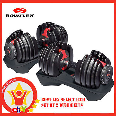 BRAND NEW Bowflex SelectTech 552 Adjustable Dumbbells Set