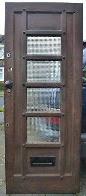 English glass front door R449. DELIVERY OPTION