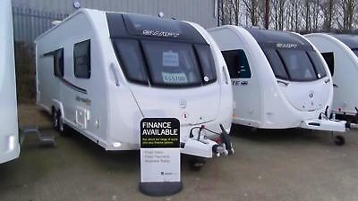 Swift Expression 636, 2017 Model, 6 Berth, Twin Axle, Fixed Bed, Dinette!!!