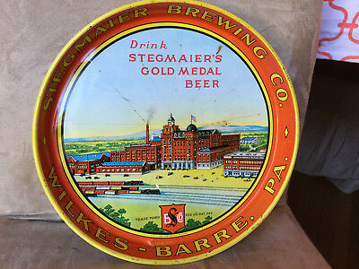 Stegmaier Beer Tray - Image of Brewery