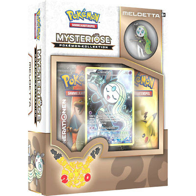 Pokemon Mysteriöse Pokemon Kollektion Meloetta Box - NEU/OVP