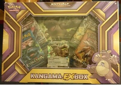 Pokemon - Kangama-EX Box - NEU/OVP