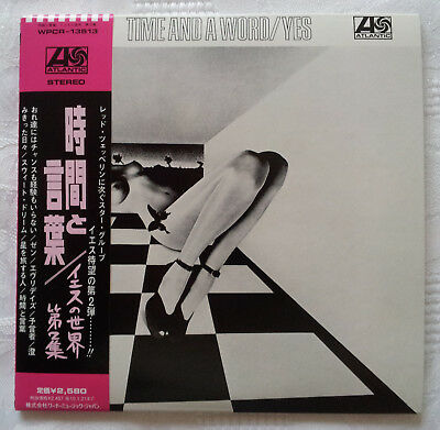 Yes - Time And A Word: Orig Japan Re-Mast'D/expanded Shm Mini-Lp Cd + Insrts/obi