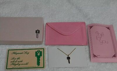 Playboy Club Key  Necklace New In Box.  Vintage