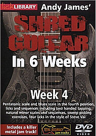 Andy James Shred Guitar in 6 Weeks: Week 4 [DVD] [2010], DVD, New, FREE & Fast D