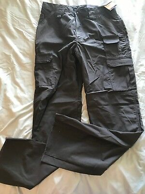 NWT Propper Womens Tactical Cargo Pants Dark Gray Size 16 Raw Hem TS8