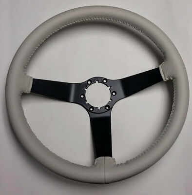 1980 Corvette OYSTER WHITE Leather Steering Wheel -ORIGINAL RECONDITIONED!