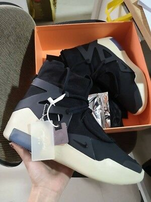 sale retailer 80c86 ced8a Nike Air Fear of God 1 Black AR4237-001 FOG Exclusive