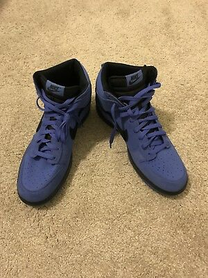 Nike Dunk SB High Mens Size: 13 Shoes Suede Blue Black 904233 401 Rare NEW!