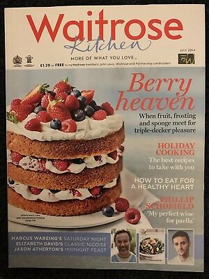 Waitrose Kitchen Magazine July 2014