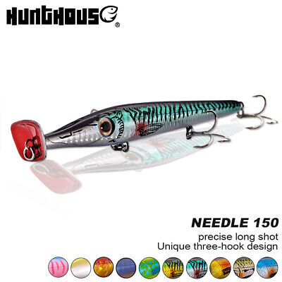 fishing baits popper needle long cast pencil topwater floating stickbait lures