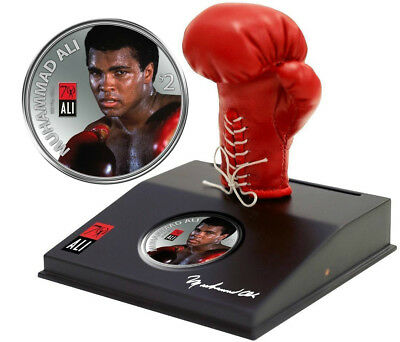 2012 Muhammad Ali LIMITED EDITION 1 Oz .999 Proof Silver Coin - Truly Priceless!