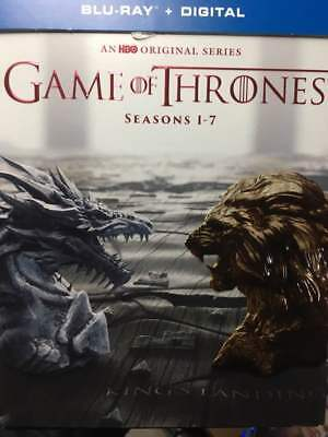 Game of Thrones Complete Series Collection 1 2 3 4 5 6 7 Blu-Ray No Digital