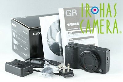 Ricoh GR Compact Digital Camera With Box #18928F1