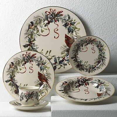 Winter Greetings 5-piece Place Setting New