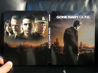 Gone Baby Gone Blu-Ray Steelbook [UK] Region A Open Mint Dennis Lehane Drama