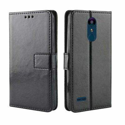 For LG K9 / K8 2018 Magnetic Flip PU Leather Wallet Soft TPU Case Stand Cover