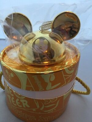 Disney Parks The Mickey Mouse Club Mouseketeer Gold Ear Hat Ornament LE 2000