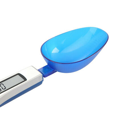 Portable LCD Digital Spoon Scale Kitchen & Lab Electronic Food Measure 0.1g-500g