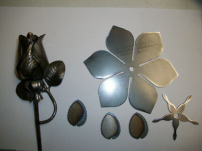 Blacksmith Flower Rose Bud With Leaves Forging Blank (unfinished)
