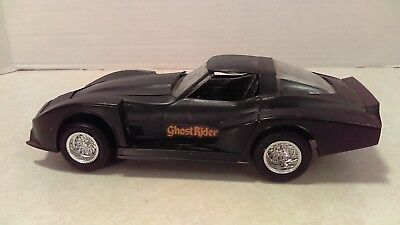 Vintage 1:25 MPC Ghost Rider Chevy Corvette Built Up Model Kit