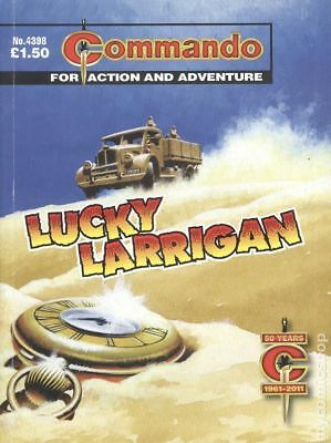 Commando for Action and Adventure (U.K.) #4398 2011 VG 4.0 Stock Image Low Grade