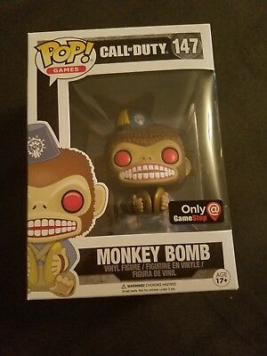 CALL OF DUTY Monkey Bomb Game Stop Exclusive Funko Pop -  24.99 ... 714e53f4d22a