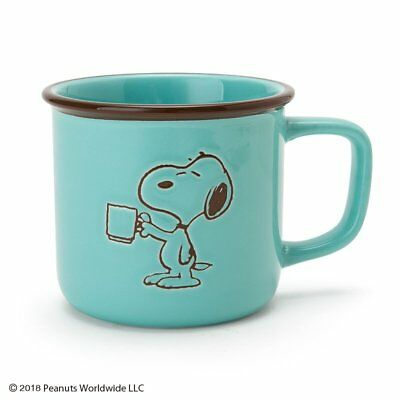 Snoopy [New] Mug Cup Coffee Time Kawai Cute Sanrio Japan Free Shipping