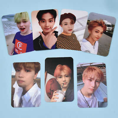 7 Pcs/set Kpop NCT DREAM We Go Up Photo Card Photocards Poster Album Lomo Cards