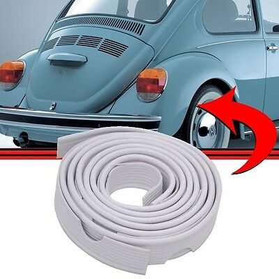 VW BUG Classic AIRCOOLED SUPER BEETLE FENDER BEADING REAR 2 pcs WHITE Type 1 2