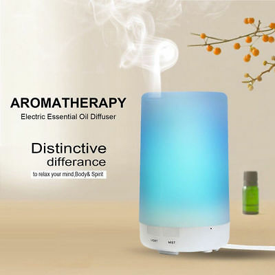 LED Essential Oil Aroma Diffuser Ultrasonic Humidifier Air Purifier 4Gear Timing