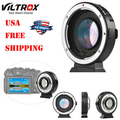 Viltrox EF-M2 Auto Focus Lens Adapter 0.71X for Canon EOS EF Lens to MFT M4/3