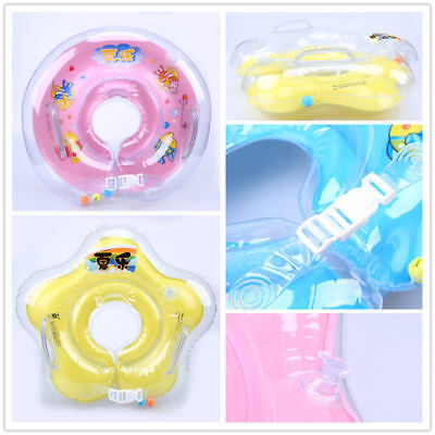 Newborn Baby Swim Ring Infant Safty Swimming Neck Float Circle Ring Inflatable