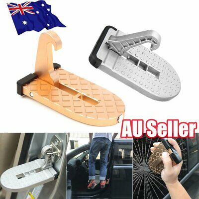 Doorstep Vehicle Access Roof Car Auto Door Step Latch Easily Rooftop Pedal ON