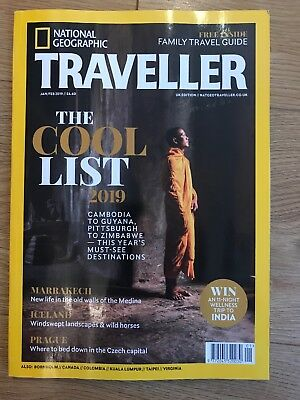 National Geographic Traveller UK Jan/Feb Issue + Family Travel Supplement