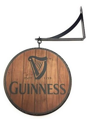 Guinness Double Sided Sign
