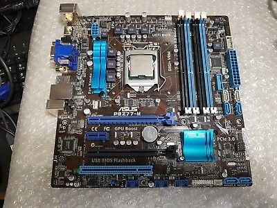 Asus P8Z77-M With I7-3770 And 4Gb Ram