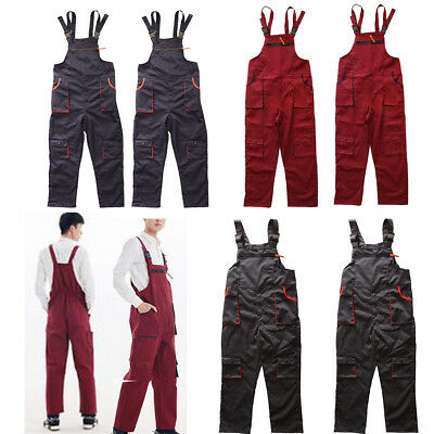 Boilersuit Coverall Overalls Tuff Workwear Mens Boiler Suit Dungarees Unisex