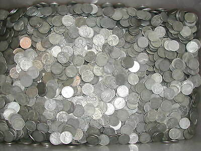 50 - 1943 - Lincoln Wheat Cent Bag - Steel Cents - 1 Roll - 50 Coins