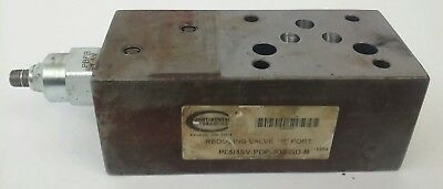 Continental Hydraulics P05Msv-Pdp-300-Gd-B Pressure Reducing Valve, P05Msv-300