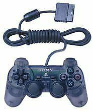 Official PlayStation 2 PS2 Controller -- Smoke Gray