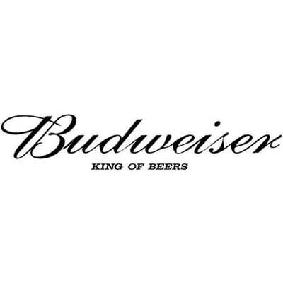 Budweiser King Of Beers Die-Cut Decal Sticker