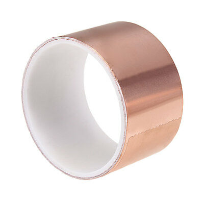 Copper Foil Tape 1.8m x50mm EMI Shielding Double Sided Conductive Adhesive